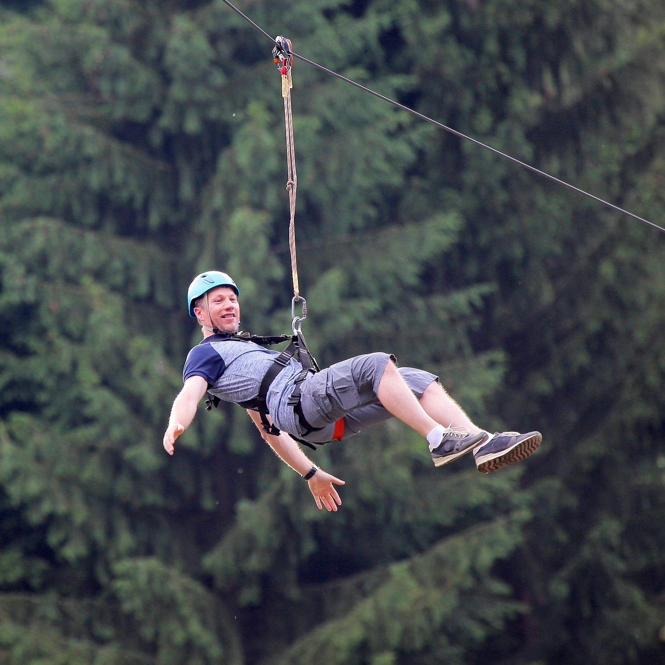 Do you adore the power of adrenaline? So ZipLine is the right attraction for you.